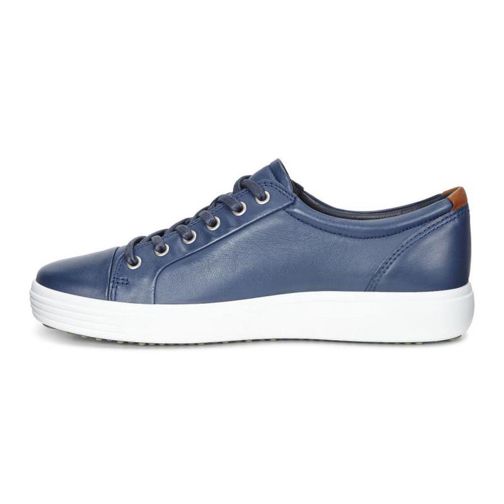 Ecco Shoe Laces Blue