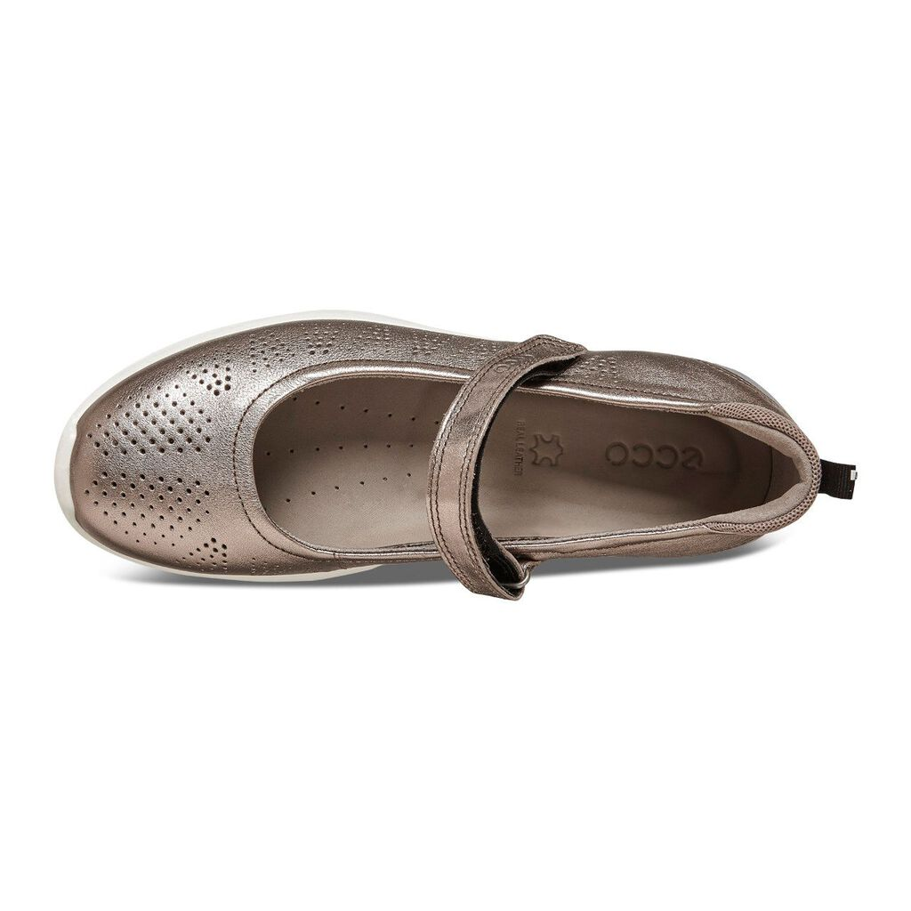 Grey Mary Jane Womens Shoes