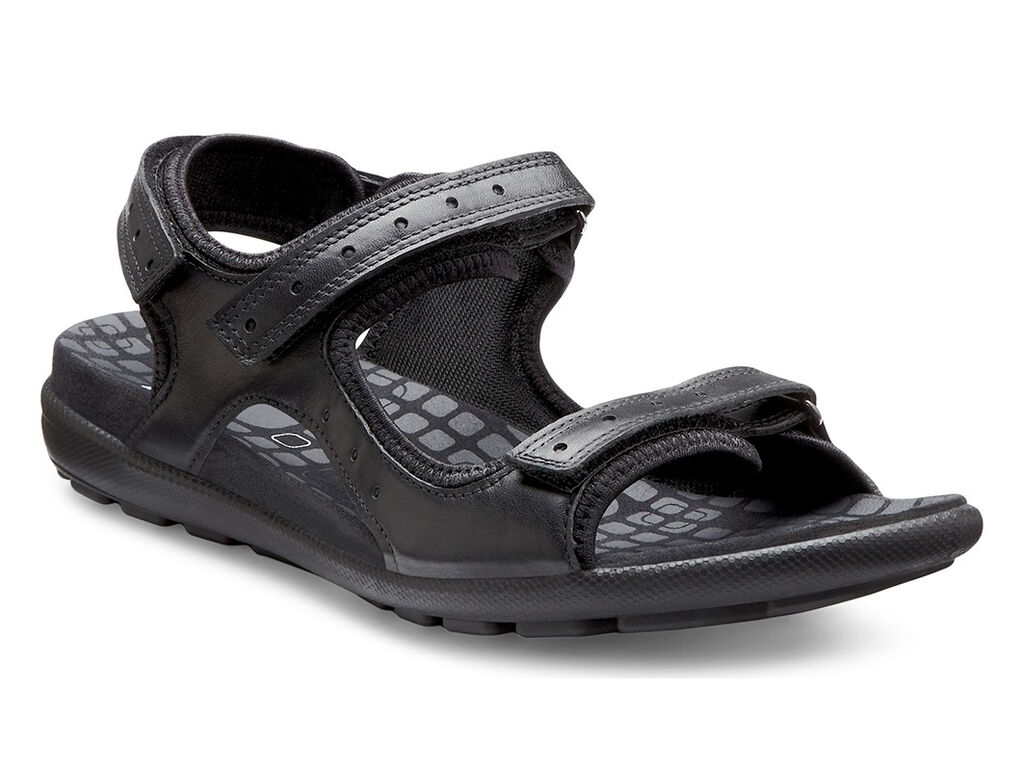 Black ecco sandals - Ecco Jab Strap Sandalecco Jab Strap Sandal In Black Black 51707