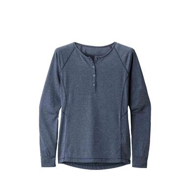 Long-Sleeve Attitude Henley - Women's