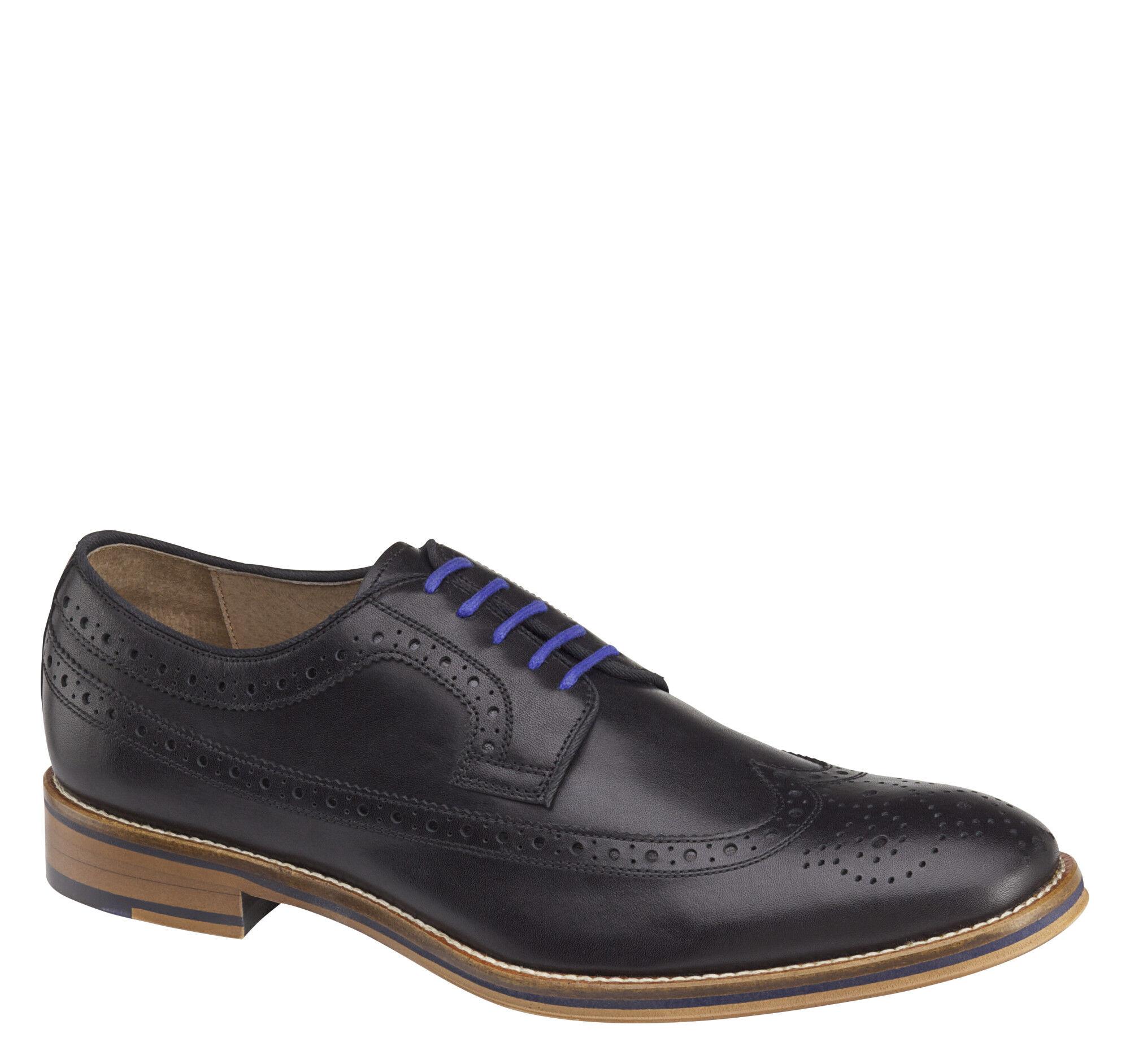 Conard Wingtip Black Shoe
