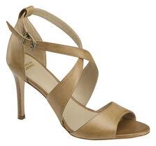 Nikki Cross-Strap Heel